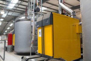 Genpower's Biomass Boiler